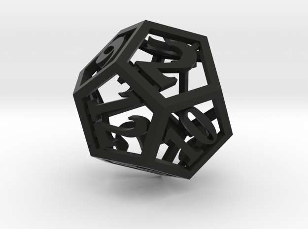 12 Sided Die 3d printed