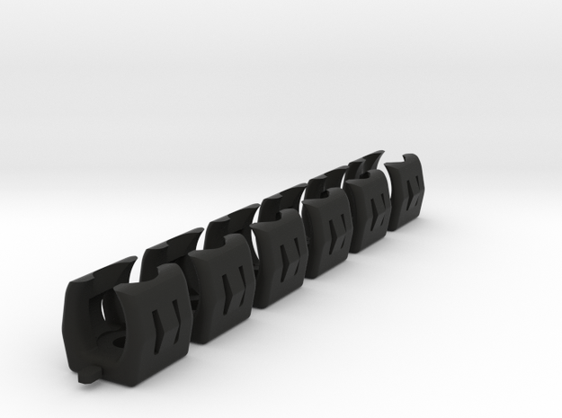Nissan S13 radio console clips (6x) 3d printed