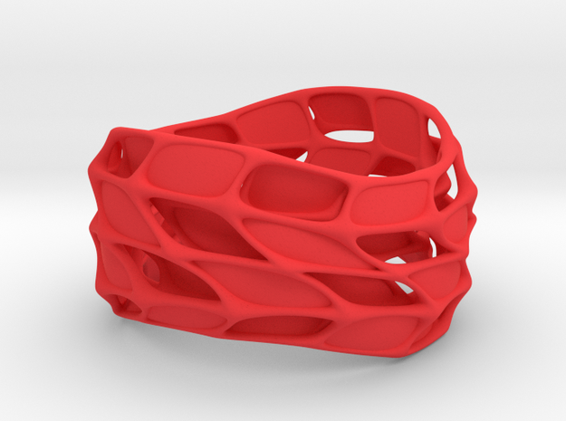Panel Twist Bracelet (sz S/M) 3d printed