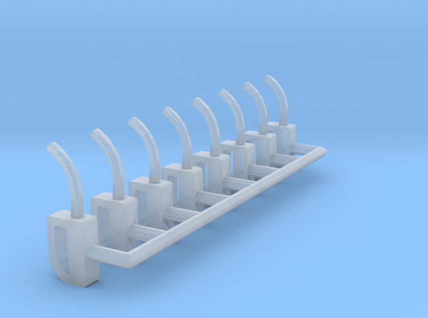 HO-Scale Gas Pump Nozzle (8-Pack) 3d printed