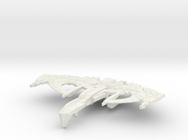 War Thorn Class Battleship 3d printed