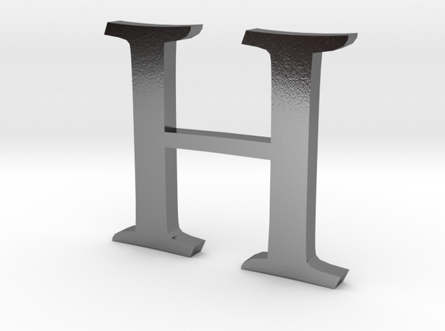 H (letters series) 3d printed