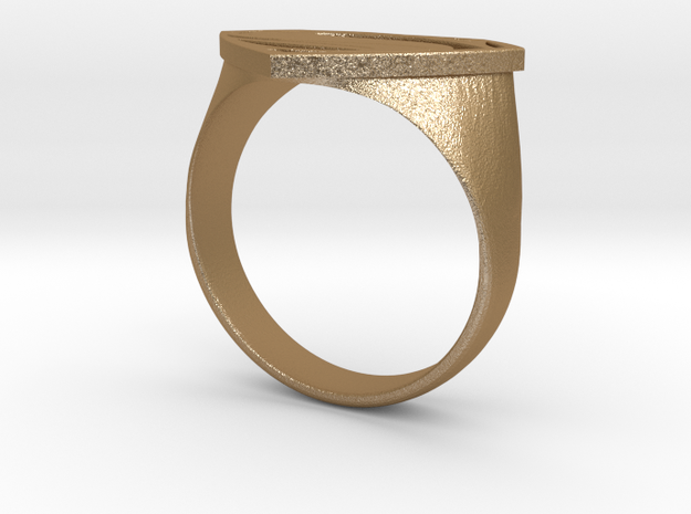Man Of Steel - Ring 3d printed