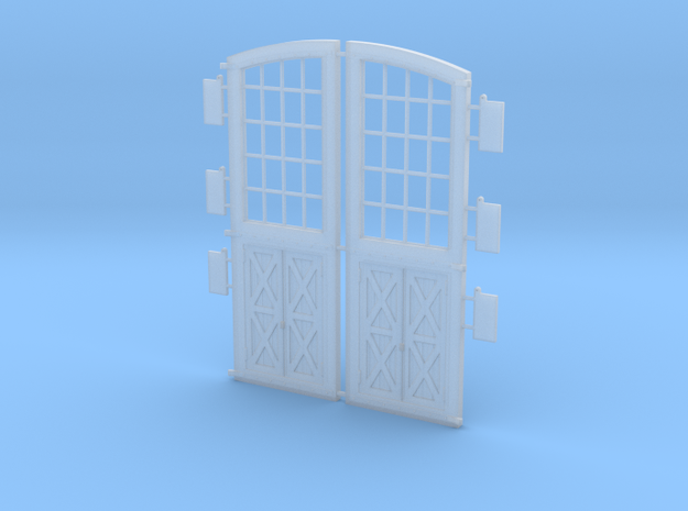 Personnel Doors DSP&P Gunnison Roundhouse 3d printed