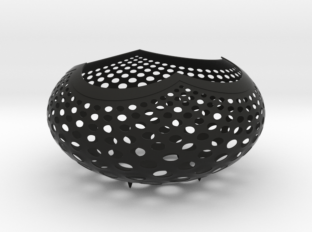 """A la Vasarely"" Bowl (20 cm) 3d printed"