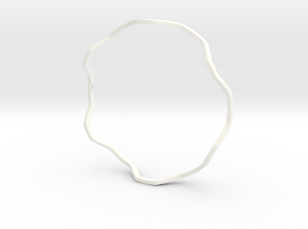 Dilly Stackable Bracelet 3d printed