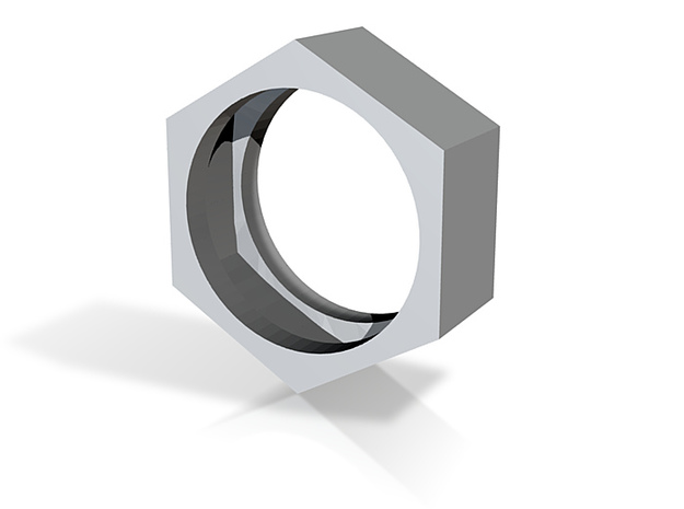 screw ring size 10 3d printed