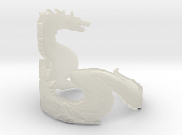 Lagiacrus ring Ring Size 9.5 3d printed