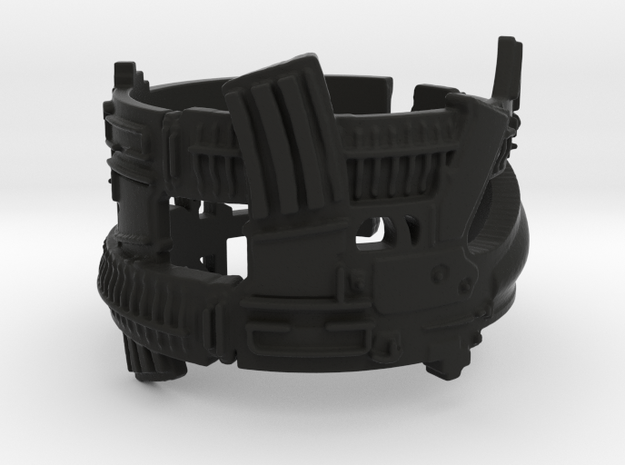 Dual AR-15s Ring #1 Ring Size 7.5 3d printed