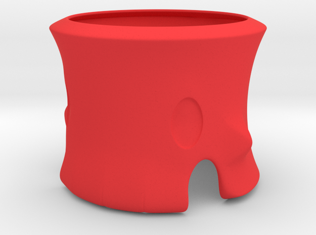 Skeleton Tea Light Holder 3d printed