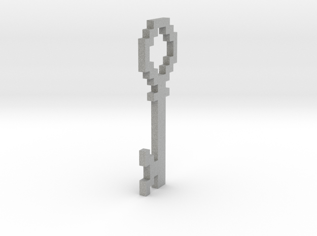 Pixellated Key 3d printed
