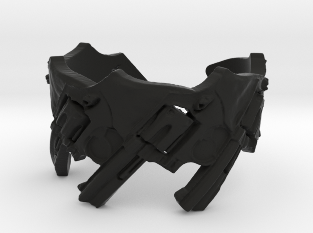 Model 5-357 Revolvers, Ring Size 8 3d printed