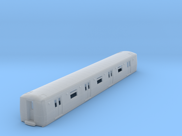 N Scale R44/R46 Subway Car B Unit Shell 3d printed