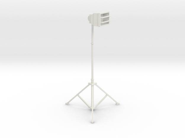 1/10 Scale Tall Work Light 1 3d printed