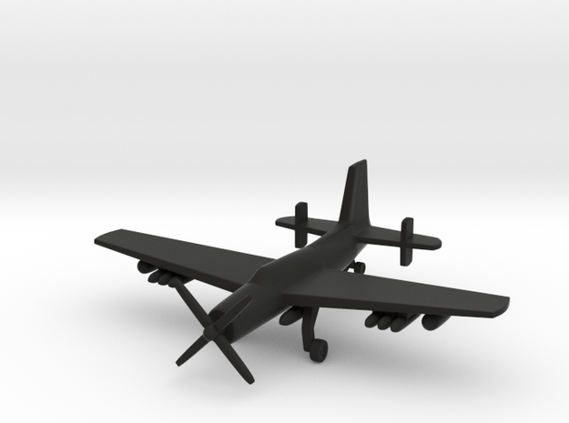 1/285 (6mm) AF-2S Submarine Killer 3d printed