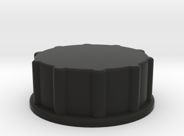 Storage Container End Cap 3d printed