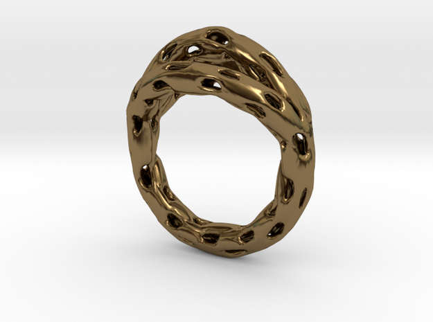 Goldmine Ring 3d printed