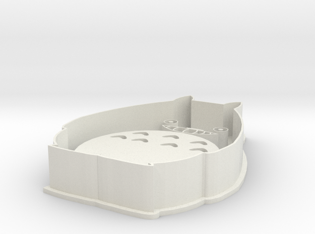 Totoro Cookie Cutter Stamp 3d printed
