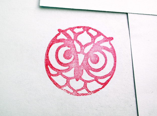 Stampmaker Owl 3d printed Example