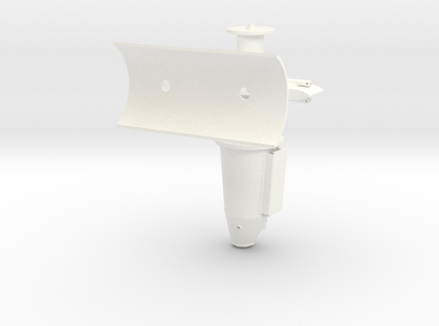 1:7 Scale Port Side Weapons Mount 3d printed