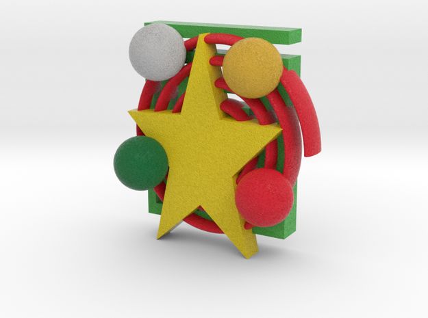 Xmas Decoration 3d printed