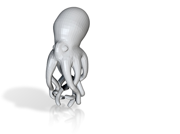 Octopus Pencil Topper 3d printed