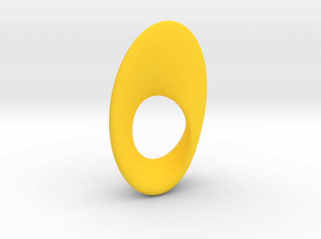 Mobius Oval 16x23mm 3d printed