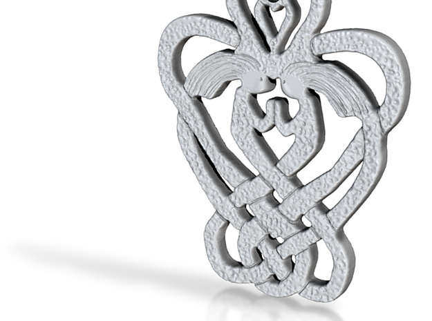 Celtic Sisters Knot 3d printed