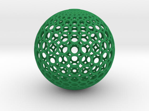 Gradient Ring Ball 【Size-XXL】 3d printed
