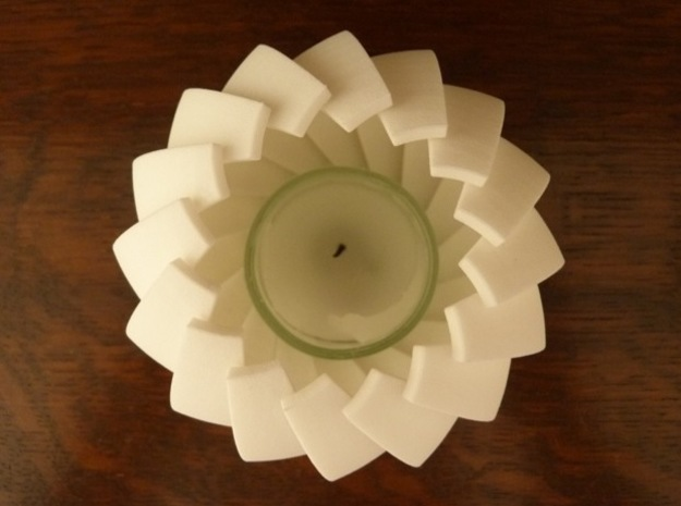 Lamella - Tea Light 3d printed