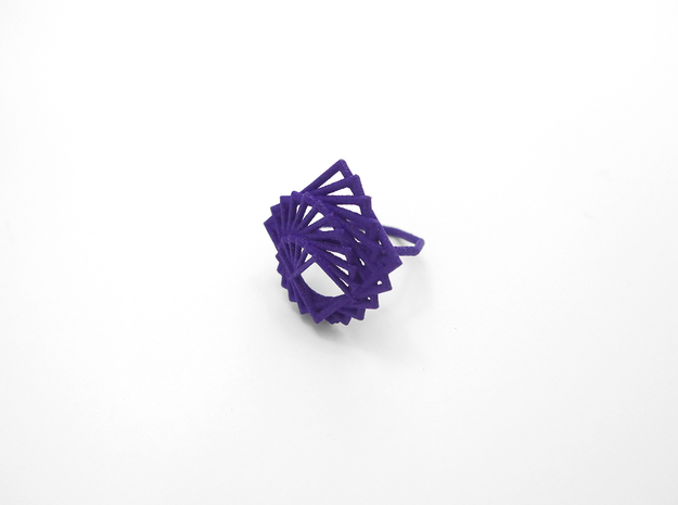 Arithmetic Ring (Size 7) 3d printed