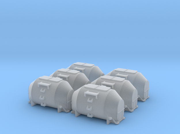EFKR Dry Bulk Container - Zscale 3d printed
