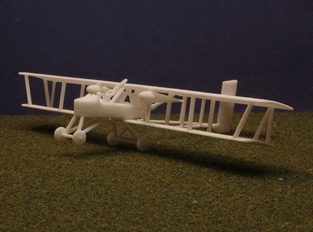 1/144 Voisin 10 3d printed Model print in WSF