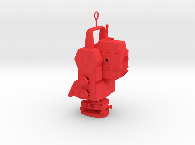 Geodimeter Christmas ornament 1/4th scale 3d printed