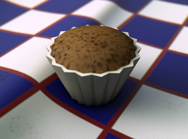 Baby Muffin 3d printed