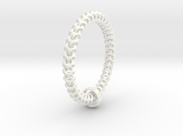 Cubichain Bracelet 3d printed Get it one of the wonderful colors!