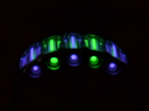 US11.5 Ring IX: Tritium 3d printed