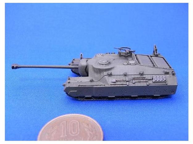 1/144 Super Heavy Tank T95 3d printed