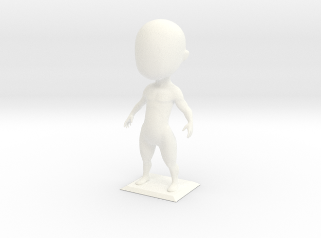Doodle Guy 3d printed