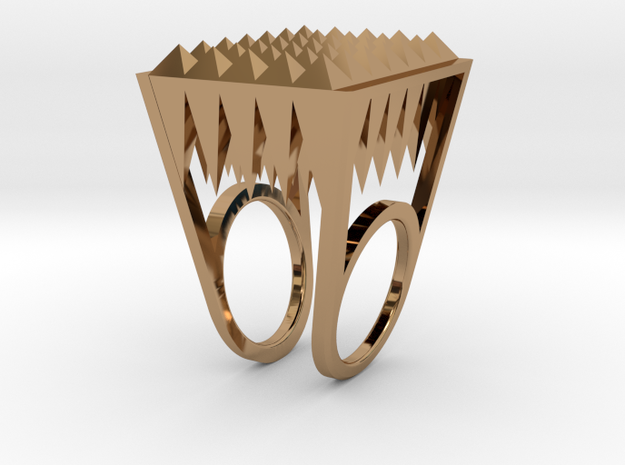 RockStone - ring (sizes 5-9) 3d printed