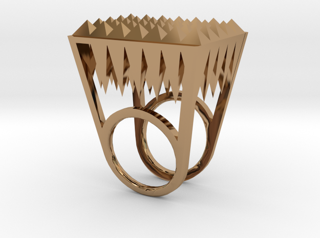RockStone - ring size 5 3d printed