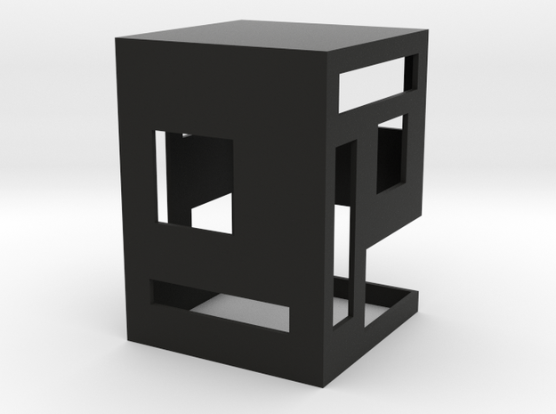 Slotted 1:12 scale Side Table 3d printed