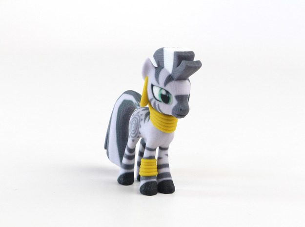 My Little Pony - Zecora (≈72mm tall) 3d printed