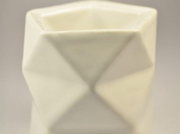 Espresso 3: Polysum 3d printed In White Ceramic