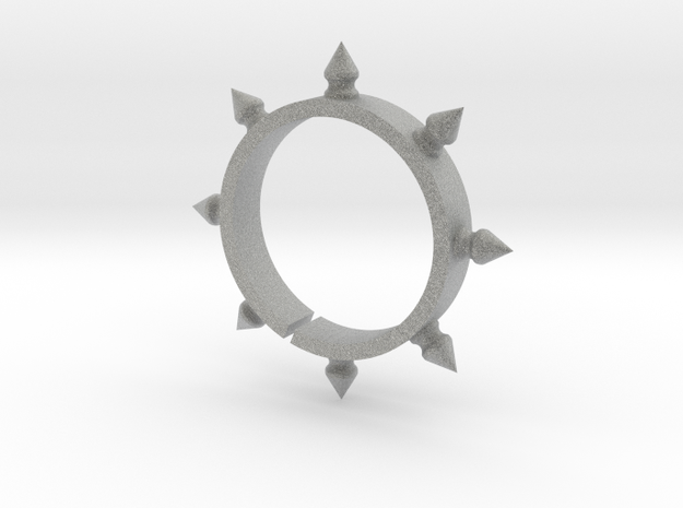 Spiked Wine Charm 3d printed