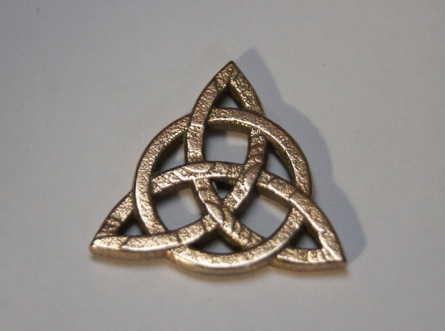 Triquetra Celtic Necklace Center Piece