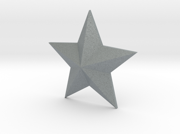 Star Solid 3d printed