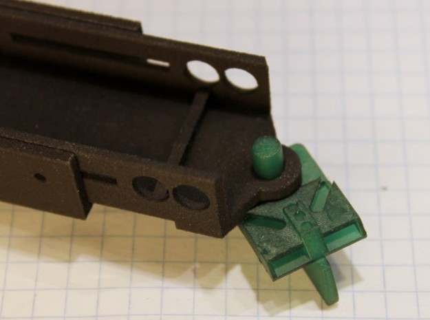 NWP2 Vario Chassis 3d printed Built-in guide stop