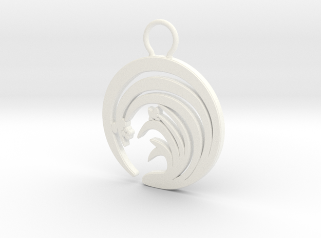 """Suisen"" Japanese single ornament 3d printed"