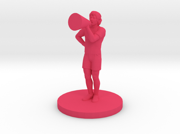 Male Cheerleader 3d printed